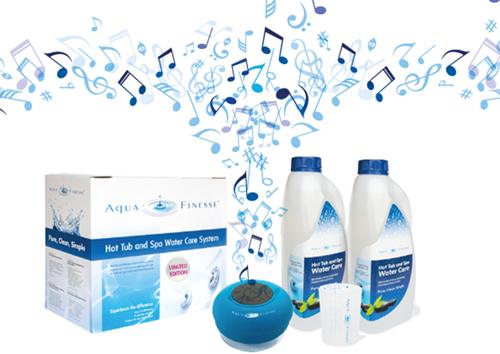 AquaFinesse chloorarm onderhoudspakket met tabletten