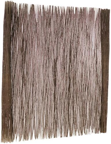 wilgentenen mat, afm. 100 x 200 cm.-1