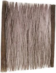 wilgentenen mat, afm. 175 x 200 cm
