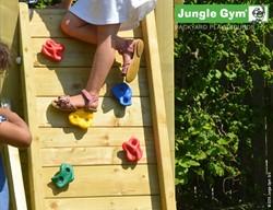 Houtpakket voor Jungle Gym Rock Wall Module, op maat gezaagd