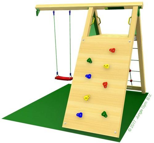 Houtpakket voor Jungle Gym Climb Module (X'tra), op maat gezaagd-2